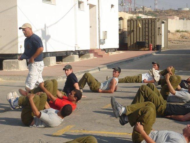 Winter Krav Maga training in Israel