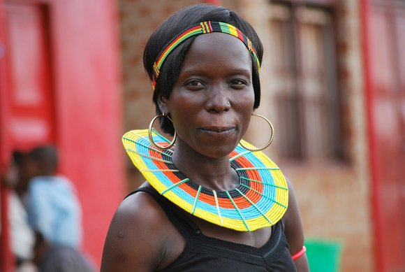 Maasai women, Kenya