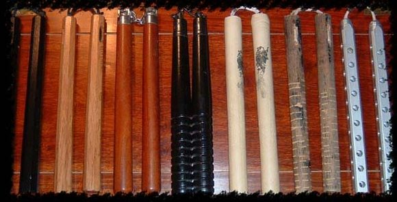 Various types of Nunchaku