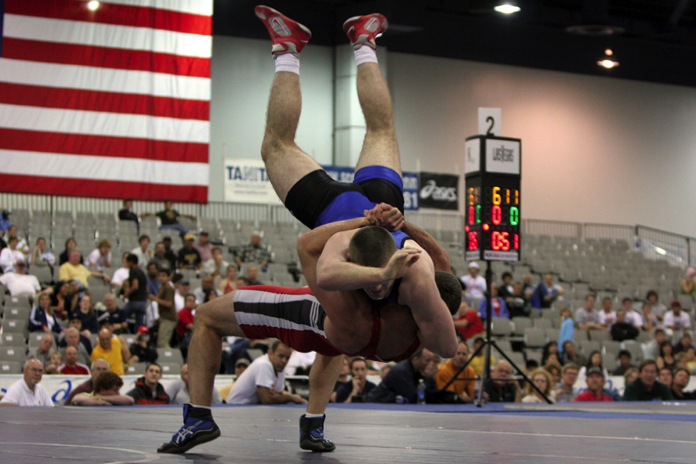 Wrestling is a physically demanding discipline