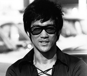 Bruce Lee close up