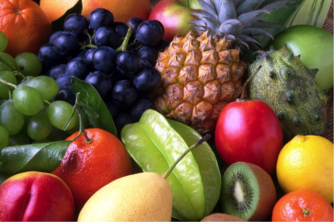 Fresh fruits will help to keep you healthy