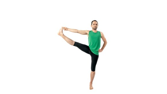 hand to toe yoga pose