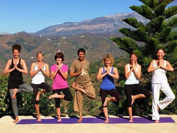 yoga tree pose balance