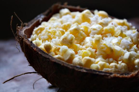 Thai desserts, Corn-Coconut Dessert