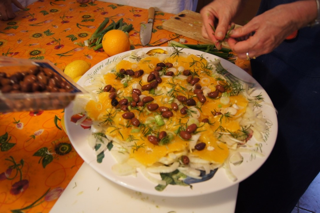 Orange Carpaccio