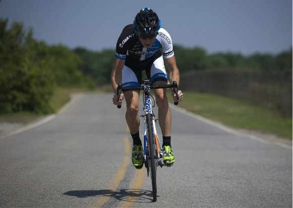 Cycling at high speed is an example of high intensity cardio exercise