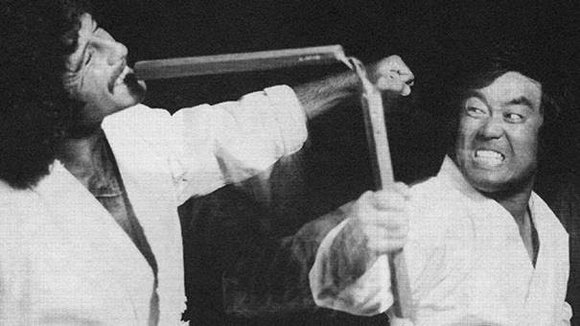 The Nunchaku was also known as a two-part flail