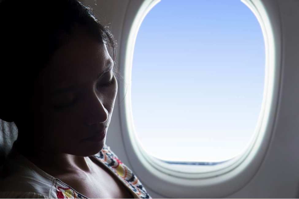 Traveling by plane can have negative side effects to the body