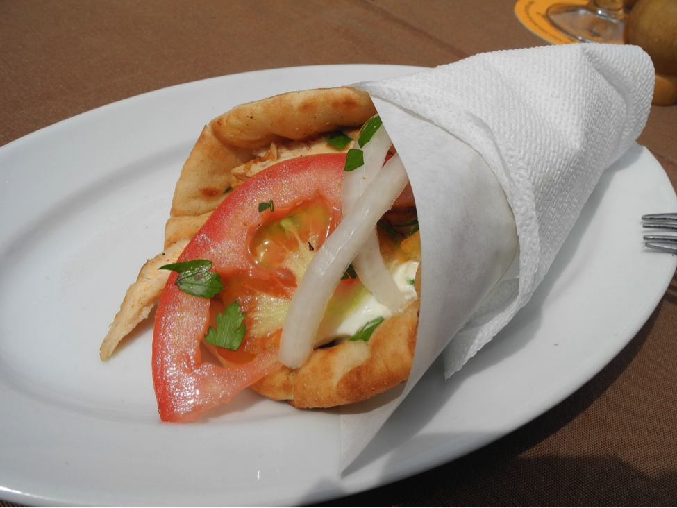 Which one would you choose? Gyros or Souvlaki?