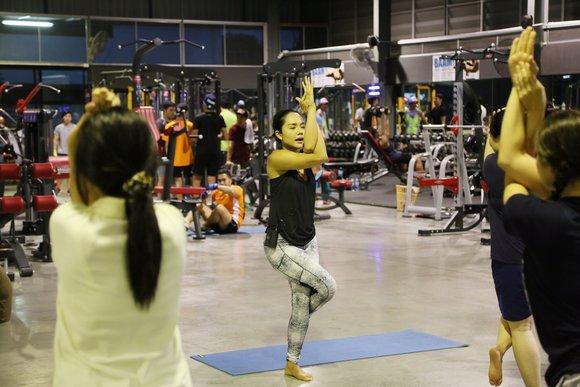 yoga gym