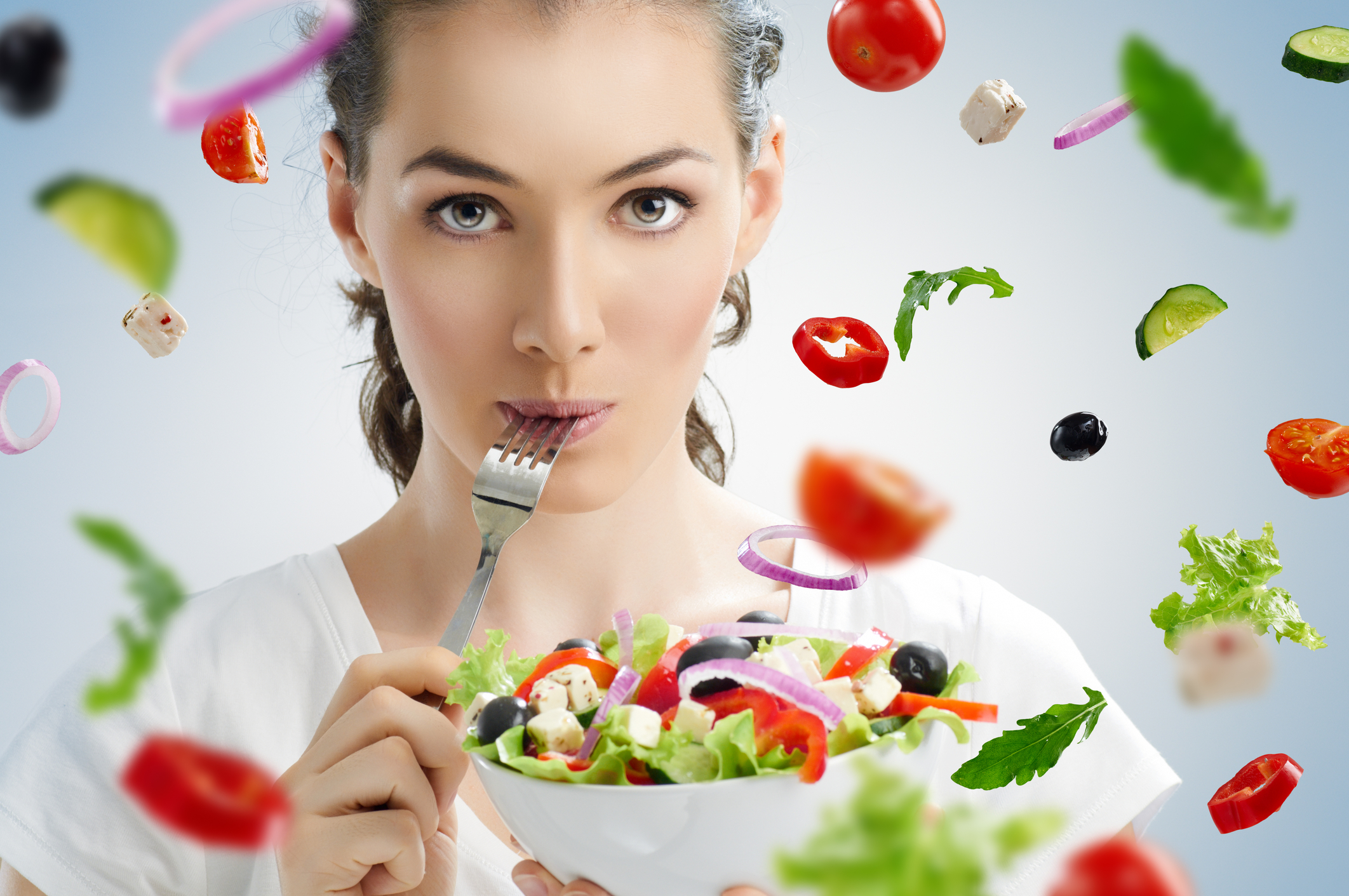 Mindful eating helps you to eat less