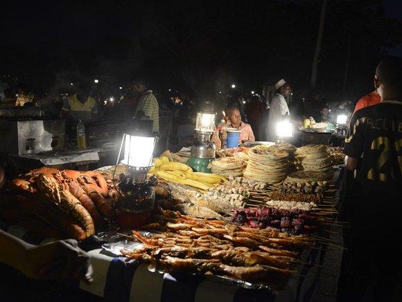 Forodhani Night Market, Zanzibar