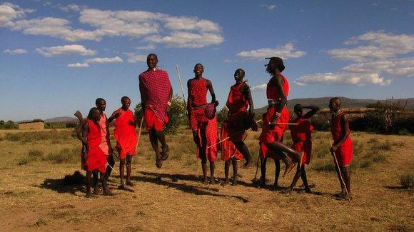 Maasai greetings