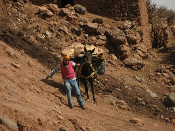 porters transporting goods