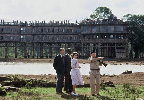 Queen Elizabeth at Treetops Hotel, Kenya