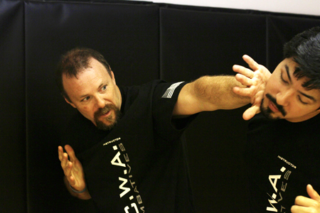 Krav Maga Palm strike