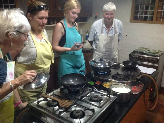 Cooking class at The Pimenta