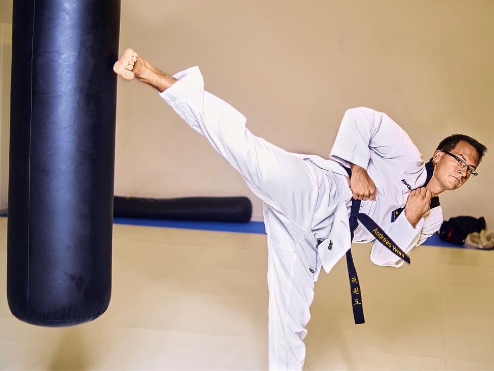Taekwondo practitioner