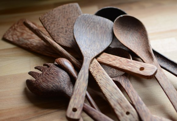 wood cooking utensils