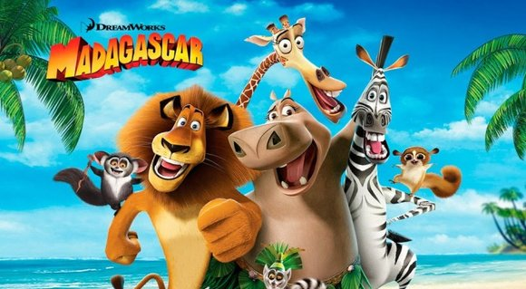 Madagascar animation