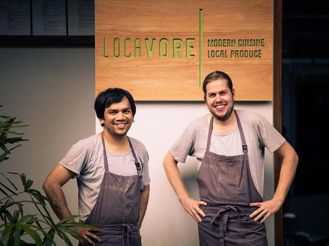 Chef Eelke & Chef Ray of Restaurant Locavore