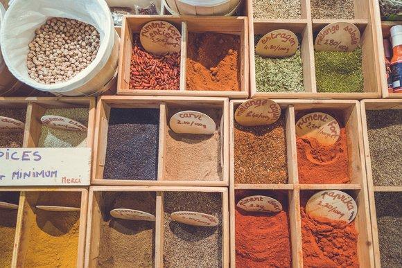 Spices in Zanzibar