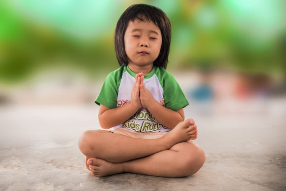 children meditation