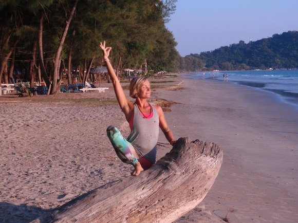 yoga retreats beach