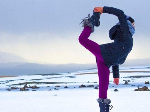 iceland yoga