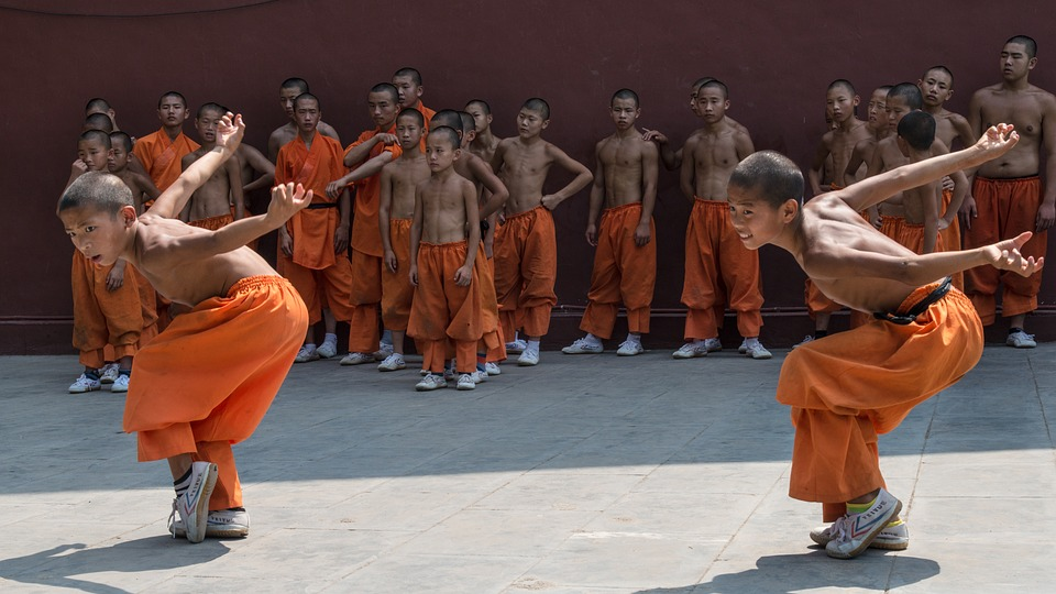 Youth training in a monastery