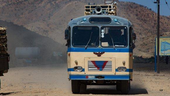 public bus in Africa
