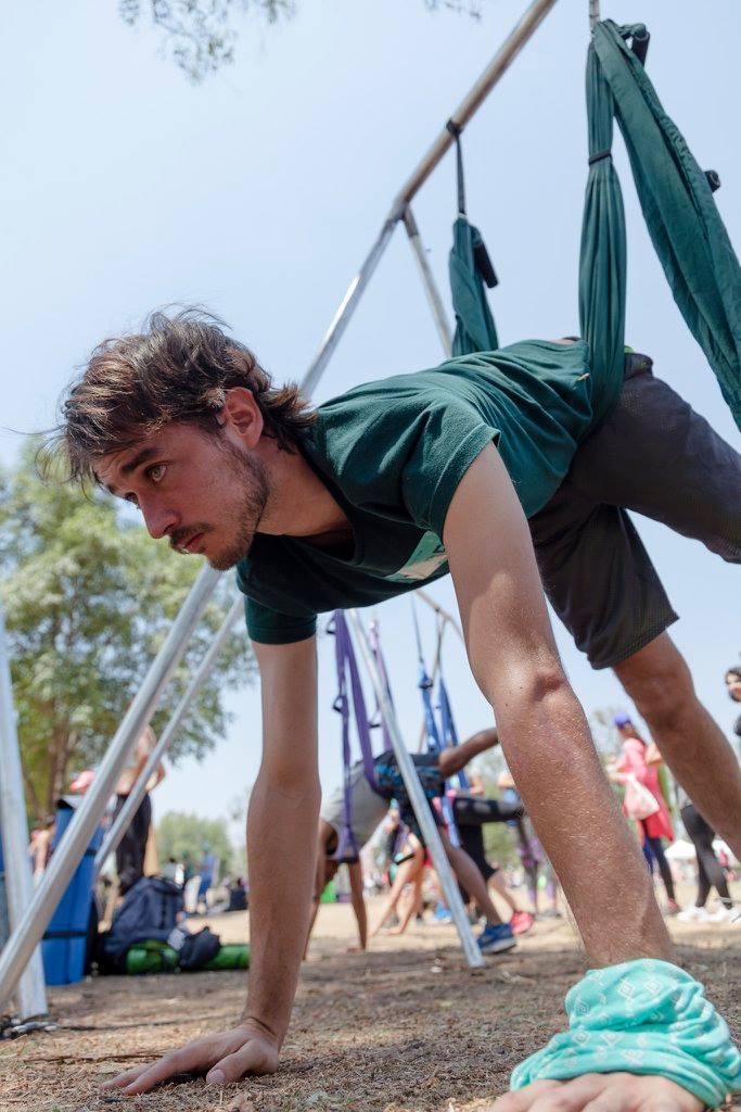 aerial yoga wanderlust