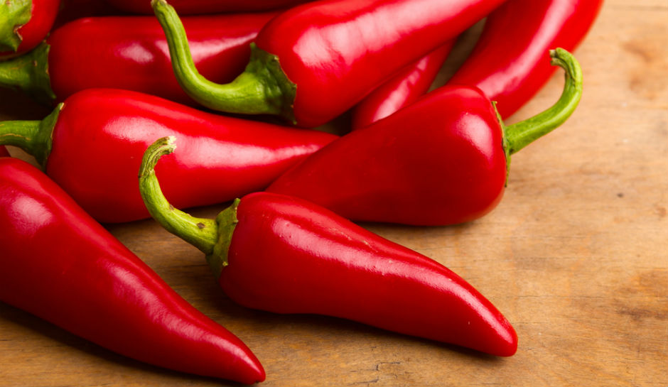 Chilli peppers will not only spice up your dish, it'll help you lose weight!