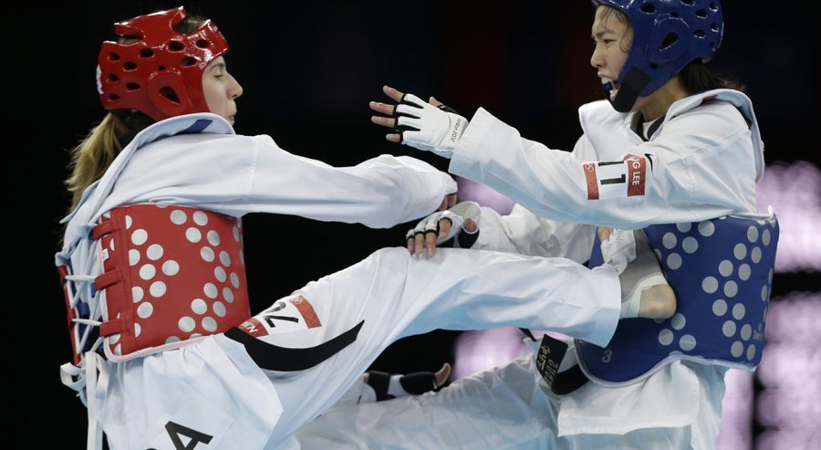 Taekwondo practitioners