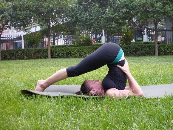 hata yoga pose