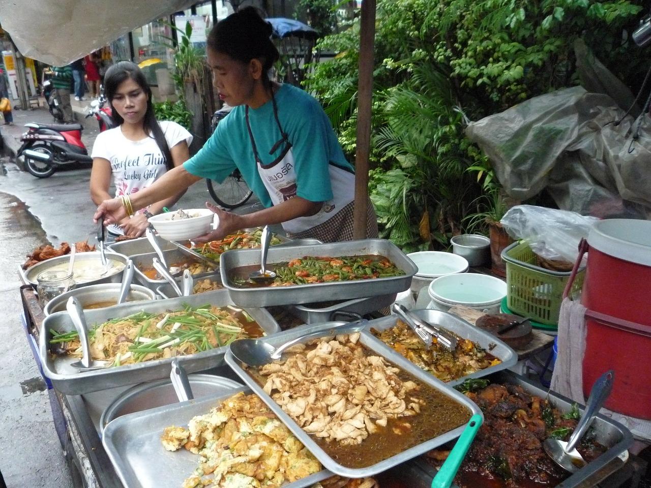 thai food street