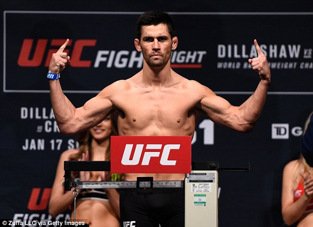Dominick Cruz weighing in