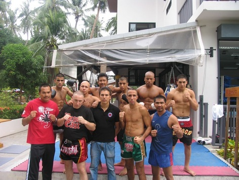 muay thai training camp in Thailand