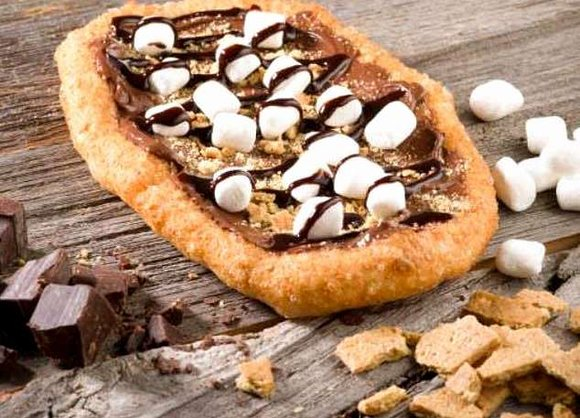 s'mores and chocolate sauce BeaverTail