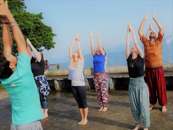 yoga himalayas