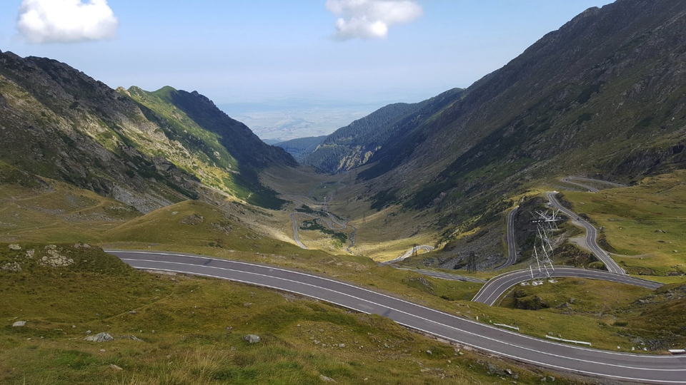 Transfagarasan is one of Romania's most amazing roads