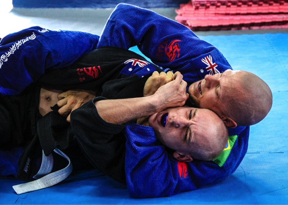 Brazilian Jiu-Jitsu (BJJ) in action