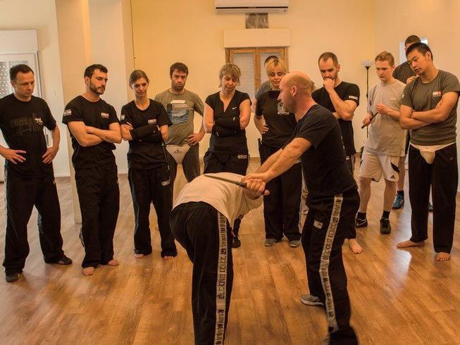Krav Maga class in session at Krav Maga Global - KMG