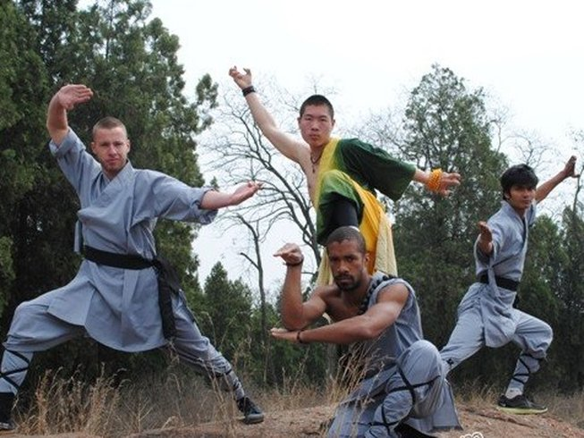 Kung Fu trainees in China