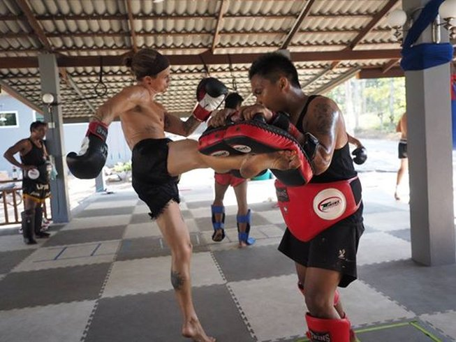 Training in BJJ and Muay Thai at Monsoon Gym, Thailand