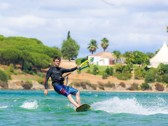 kitesurfing holiday in Portugal