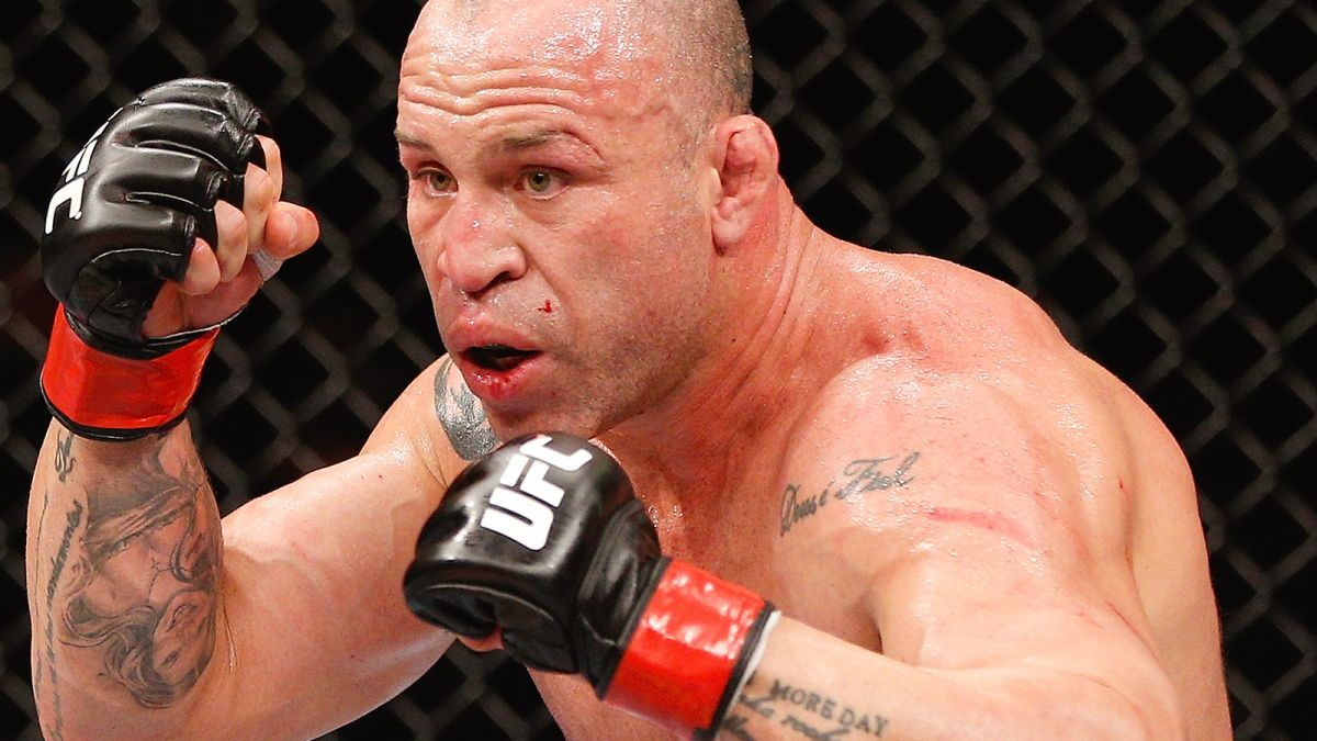 Wanderlei Silva - an older yet powerful fighter